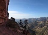 Terraces between cliffs