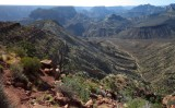 About halfway to the Colorado River and the route lies ahead