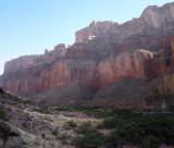 Cliffs above the Colorado