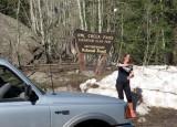 Owl creek pass near Montrose Colorado