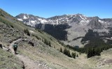 Wheeler Peak - descent from New Mexico's highest peak