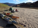 April 2014 Kayaking the Colorado river on the Hayduke