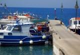 Myrtles jetty on Kalymnos