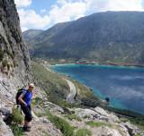 At the Arhi cliffs looking to Arginonta