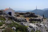 Chapel on the summit of peak above Argononta