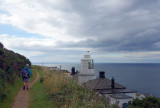Whitby coastal walk lighthouse