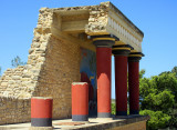 Knossos, capital of Minoan Crete