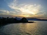Heraklion at sunset