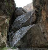 Aradena gorge- 'via ferrata' ladders
