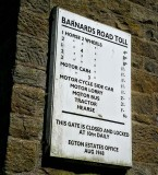 Part II Grosmont toll sign North York Moors