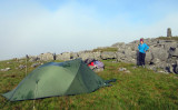 June 2016 Nine Standards Rigg England, Cumbria/Yorkshire on the English Coast to Coast