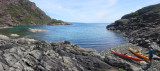 Jun 16 Near Loch Coruisk, Skye with the bad step to left