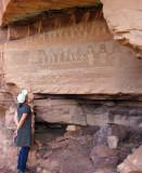 Salt Creek canyon  Cave granary
