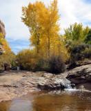 Salt Creek canyon Pool near Kirk's cabin
