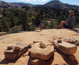 Salt Creek canyon Big ruin