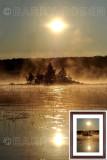 Sunrise Lake Scene M14_0775 (Green Lake, Maine)