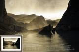 Lake Rocks at Sunrise M13_3424