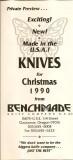 1990 BM Christmas Flyer