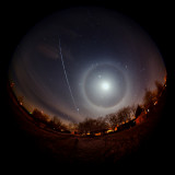 ISS with Halo
