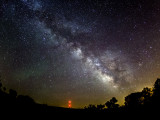 Summer Milky Way with Airglow
