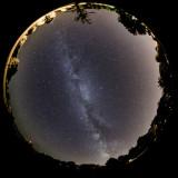 Circular Milky Way View