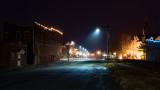 Downtown Albany on Christmas Eve