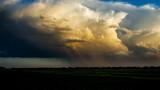 Storms & Rain Over Farmland