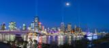 Brisbane Santos Light Show