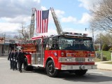04/23/2015 Deputy Chief Steven O. Cummings (Retired) Funeral Sharon MA