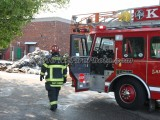 05/12/2016 Trash Truck Fire Kingston MA