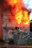 Webster MA - 3 Alarm Structure fire; 28 Fifth Ave. - July 5, 2014