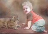 Jonathan With Kitty