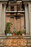 window sill heart