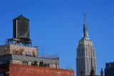 New York skyline icons