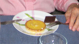 Lemon tart & chocolate