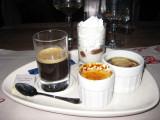 Café gourmand chez Marty's