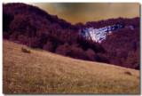 Vers la cascade de la Queue de Cheval variante colorisée
