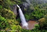 Bridal Veil Falls, Waikato, New Zealand