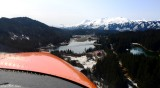 turning final to Seldovia, Kenai Peninsula, AK