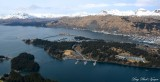 Kodiak, Near Island, Inner Harbor and Marina, Barometer Mtn, AK