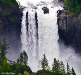 Observation Deck, Snoqualmie Falls,Snoqualmie, Washington