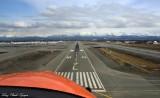 Anchorage Airport, Anchorage, Chugach Mountains, AK