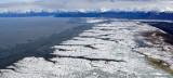 Chickaloon Bay, Mud Flat, Turnagain Arm, Kenai Mt,s Chugach Mts, Alaska