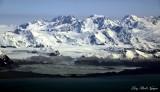Grand Plateau Glacier, Mt Watson, Mt Root,  Glacier Bay National Monument,  Alaska
