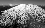 Mt St Helens, South Face, Mud Flow, Volcanic Monument, Washington