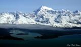 Lituya Bay, Cascade Glacier, Crillon Glacier, Mt Crillon, Glacier Bay NP, Alaska