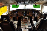 Air Force 2 Cockpit,  80002, Boeing 757, Boeing Field, Seattle