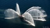 Seattle Fireboat, Puget Sound, Seattle, Washington