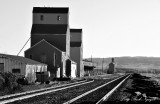 Grain Silos and Elevator, Big Timber, Montana