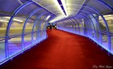 transfer corridor Terminal 2, Charles de Gaulle Airport, Paris, France